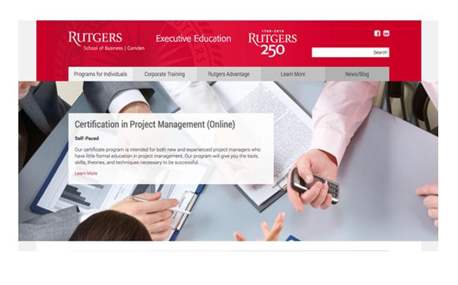 Executive Education Rutgers-Camden